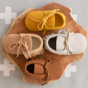 Baby moccasins alle kleuren The little market