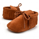 Baby moccasins bruin